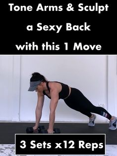 🔥Toned Arms & Sexy Back🔥 The Blast Off Row is the perfect exercise to tone your arms and sculpt a sexy back👉 Try 3 repetitions in your next workout routine Fitness Workouts, Yoga Fitness, Fitness Tips, Fitness Motivation, Hiit, Weight Training, Physical Fitness, Get In Shape, Excercise