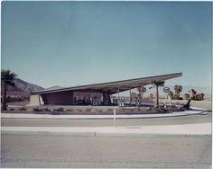 Esso gas Station, Palm Springs, California.