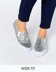 ASOS | ASOS DULCIE Wide Fit Sneakers