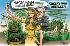 Creepy Swamp thing Mueller Distorts the facts to support his radical alt-leftist never Trump buddies Comey, Clapper and Brennen Ben Garrison, Conservative Humor, Swamp Creature, Florida Woman, On Today, Smell Good, American History, Creepy, Funny Quotes