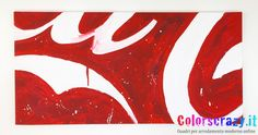Quadro Coca Cola Pop Art Mario Schifano by colorscrazy. Acquista su www.colorscrazy.it