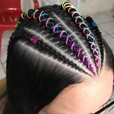 Smart Hairstyles, Teen Hairstyles, Box Braids Hairstyles, Hair Colour Design, Tail Hairstyle, Braid Out, Natural Hair Styles, Long Hair Styles, Hair Highlights