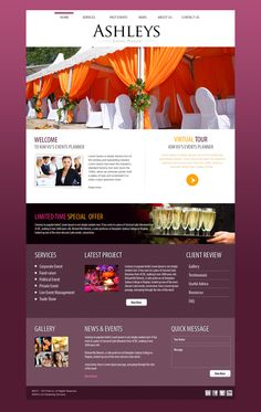 Event Website Design