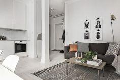 Binnenkijken: Scandinavisch ingericht appartement   Stek Magazine   Woonkamer inrichten   Interior
