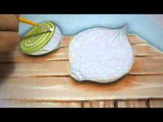 Cebolas - Pintura em Tecido