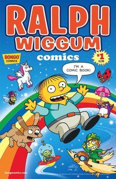 Ralph Wiggum gets his own comic