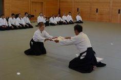 Aikido Lehrgang des österreichischen Aikidoverbands im Budokan Wels, Oktober 2013 - Übergabe Danurkunde
