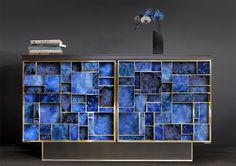 Striking cabinet design | www.bocadolobo.com #bocadolobo #luxuryfurniture #exclusivedesign #interiodesign #designideas #cabinetsideas #moderncabinets