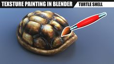 Blender tutorial: Texture painting (and little sculpting)