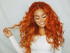 Mädchen aus dem All ( Dyed Curly Hair, Curly Hair Styles, Natural Hair Styles, As Told By Ginger, Copper Hair, Hair Reference, Hair Laid, Hair Affair, Auburn Hair