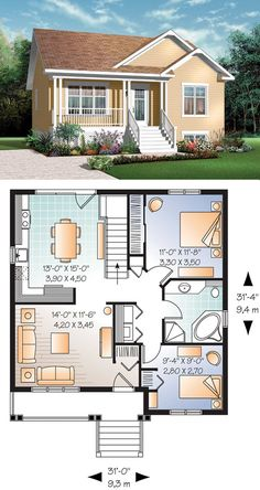 What Do You Need to Know From Sims Plans And House Plans « mistertekno. Sims 4 House Plans, Family House Plans, Dream House Plans, Modern House Plans, Small House Plans, House Floor Plans, Sims 4 House Design, Small House Design, Casa Loft
