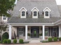 painted tan brick house - Bing images