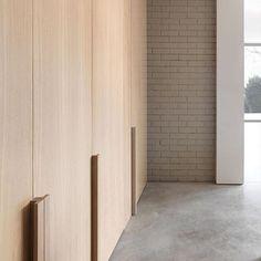 #mclarenexcell #architecture #interiors #design #remodel #extension #spaces #home #bespoke #details #materials #light #joinery #concrete #oak #paintedbrick #handles