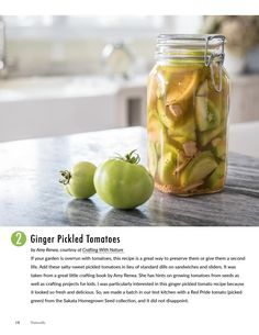 3 easy (and tasty!) ways to use your Green Tomatoes. | P. Allen Smith