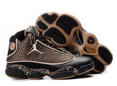 Jordan Shoes Air Jordan 13 Diamond Black Gold White [Air Jordan 13 - Are you still looking for durable shoes that can make you become more fashionable at the same time? The Air Jordan 13 Diamond Black Gold White shoes are made just for you. Jordan Shoes Girls, Air Jordan Shoes, Michael Jordan Shoes, Nike Free Shoes, Running Shoes Nike, Sneakers Fashion, Shoes Sneakers, Fashion Shoes, Men's Shoes