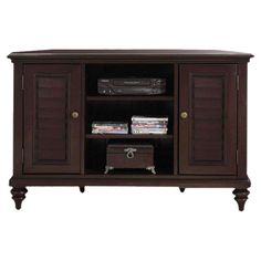 I pinned this Bermuda Corner Media Console in Espresso from the Spring Storage event at Joss and Main!
