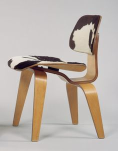 DCW Side Chair. The husband-and-wife team of Charles and Ray Eames, who collaborated in the design of hundreds of chairs, tables, and other pieces of furniture that combined mass production with a high sense of style and comfort, were among the most innovative American designers of the mid-twentieth century.