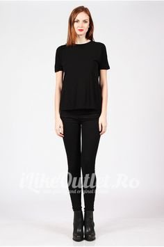 Tricou negru Basic COS Cos, Normcore, Style, Fashion, Swag, Moda, Fashion Styles, Fasion