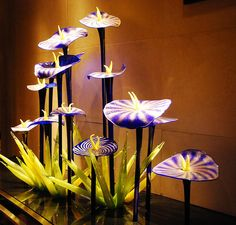 Chihuly ~Art Glass Sculpture PINTURAS NICO