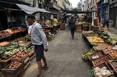 Market in Montevideo, Uruguay