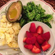 Well balanced meal :)