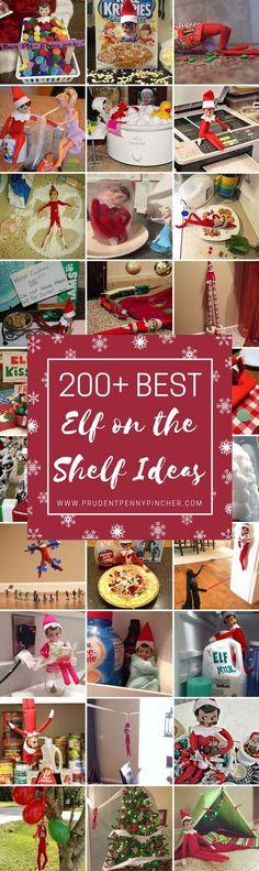 200 Best Elf on the Shelf Ideas