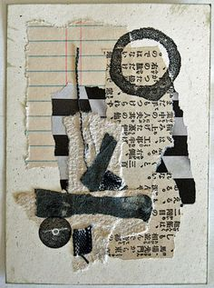 Constance Rose - Mixed Media and Textiles: Coasting in Neutral. chosen due to the torn pieces that have been made into a collage. Collage Kunst, Art Du Collage, Mixed Media Collage, Kunstjournal Inspiration, Art Journal Inspiration, Modern Art Movements, Creation Art, Art Journal Pages, Art Journals