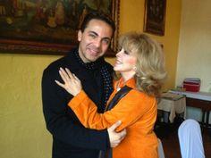 Verónica y Cristian Castro