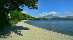 The beach at Luss, Loch Lomond, Scottish Highlands