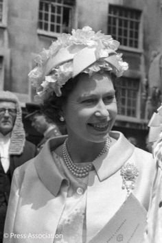 Queen Elizabeth attended the 750th Anniversary of Magna Carta in 1965