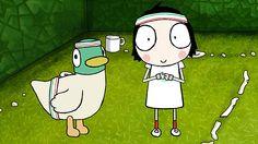 Sarah & Duck: Tennis