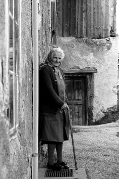 Old Italian Lady by Frankhuizen Photography, via Flickr