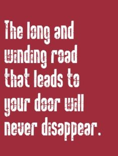 The Beatles - The Long and Winding Road - song lyrics, songs, music lyrics, song quotes, music quotes