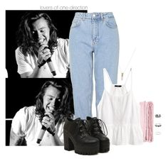 """""""T.S.P.O.T.H. (READ D)"""" by lovers-of-one-direction ❤ liked on Polyvore featuring Love, Retrò, abcDNA, Boutique and H&M"""