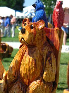 Chainsaw Wood Carvings | Chainsaw Wood Carvings | Flickr - Photo Sharing!