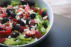 Berry with Feta Salad