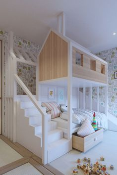 home bedroom Kids Room Ideas - Best Shared Bedroom Ideas For Boys And Girls home kids children interior design home decor home ideas homes bedrooms childrens rooms childrens rooms shared rooms Kids Bedroom Sets, Home Bedroom, Girls Bedroom, Bedroom Loft, Trendy Bedroom, Bedroom Furniture, White Furniture, Bedroom Decor For Kids, Kids Bedroom Dream