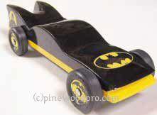 Batmobile Pinewood Derby Car