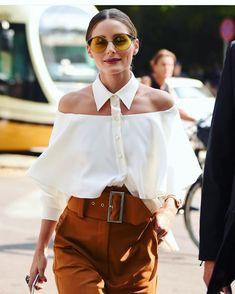 Olivia Palermo Milan Fashion Week after Fendi Huang show . Look Fashion, Trendy Fashion, Fashion Models, Fashion Outfits, Womens Fashion, Fashion Design, Fashion Trends, Milan Fashion, Dress Fashion