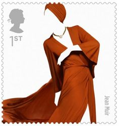 There's something about the British that makes them sartorial sensations (think: prim hats, demure gloves, and Kate Middleton). So when something even as tiny as stamps come out, you can expect big names to jump on. The Great British Fashion Stamp Set, launched by The Royal Mail service, honors 10 top fashion houses from England, including Alexander McQueen, Paul Smith, Vivienne Westwood, and the like.
