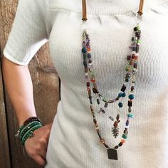 Mother Nature Triple Strand Necklace