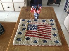 Minick  Simpson: 2013 Semper Fi Rug Hooking Kit - Post Jobs, Tell Others and Become a Sponsor at www.HireAVeteran.com