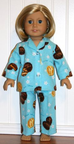 girl scout cookie pjs - american girl doll