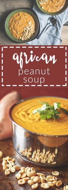 Velvetty, sweet, spicy, and of course, peanutty! A soup to fill your belly and…