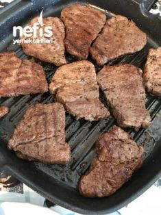 Bu Eti Hiçbir Yerde Yiyemezsiniz (Bonfile) – Nefis Yemek Tarifleri Homemade Beauty Products, Diy Food, Meat Recipes, Pork, Food And Drink, Health Fitness, Tasty, Beef, Dishes