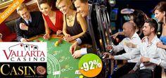 Revista Casino - $399 en lugar de $5,000 por 1 Cuponera con Múltiples Descuentos para Vallarta Casino. Click: CupoCity.com