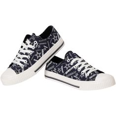 wholesale dealer d871b d6b4a NFL Dallas Cowboys Women s Repeat Print Low Top Sneakers Dallas Cowboys  Women, Dallas Cowboys Shoes