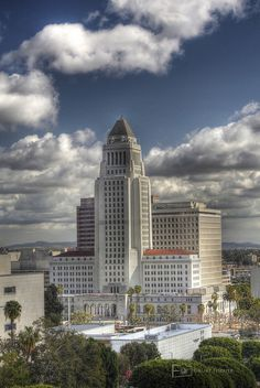 Los Angeles City Hall. Did you know you could check out the observation deck for free and see all of Los Angeles?