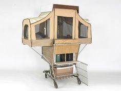 Shopping Cart Pop Up Camper
