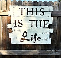 This is the Life beach sign!  #beachlife #beachsign #beachdecor #easylife #nonprofit